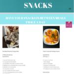 Easy, quick snacks