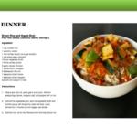 7 Dinner Recipes