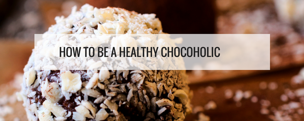 healthy chocoholic banner