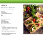 7 Lunch Recipe