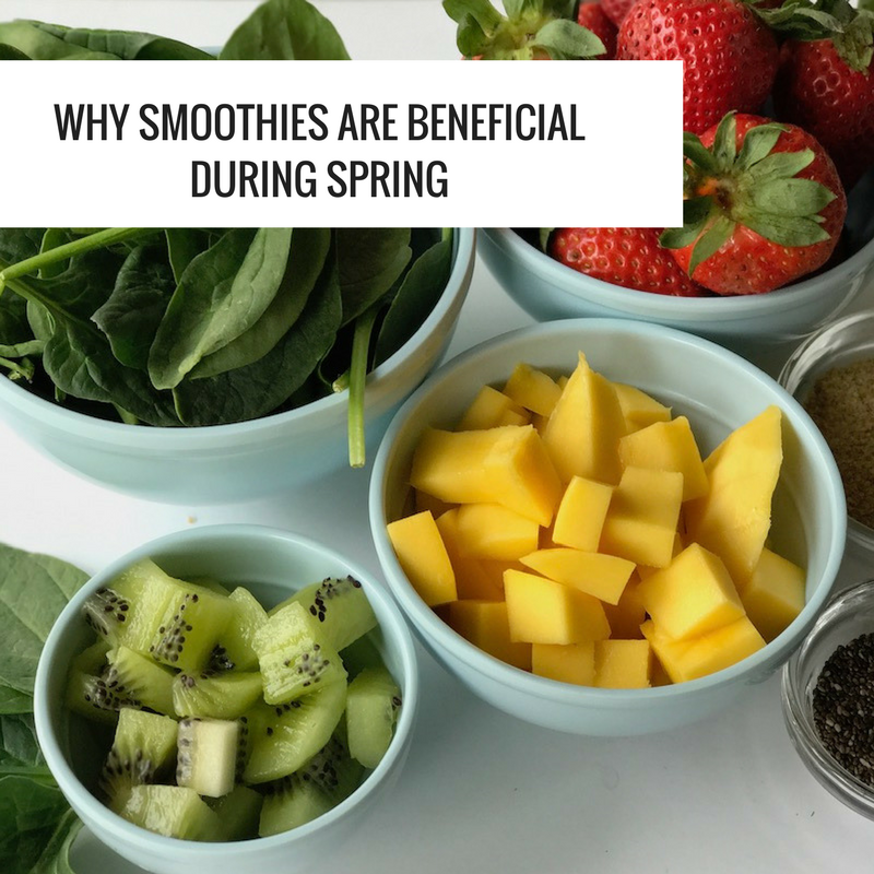 why smoothies are beneficial during spring 2