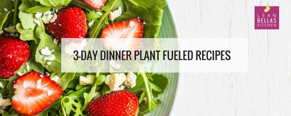plant fueled recipes banner