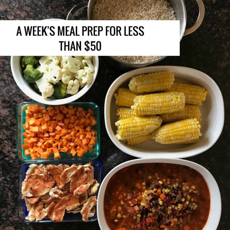 a week's meal prep 13