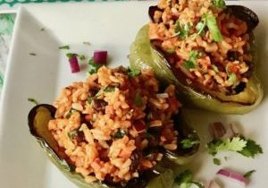 chili lime stuffed peppers 3