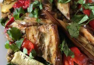 lentil and vegetable salad 1