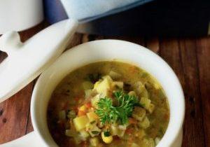 vegetable chowder 3